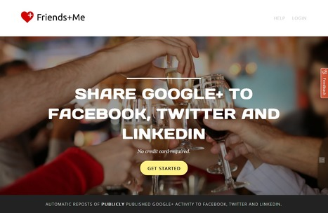 Friends+Me - Share Google+ to Facebook, Twitter & LinkedIn | Time to Learn | Scoop.it