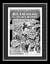 "Jack Kirby Fantastic Four #41 Rare Production Art Pg 1 Monotone | Jack ""King"" Kirby 