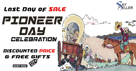 Pioneer Day Sale for all   Sky-Seller : Men Leather Jackets   Scoop.it