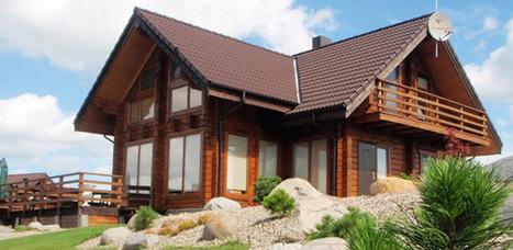Casas modulares de madera prefabricada casas - Casas de madera modulares ...