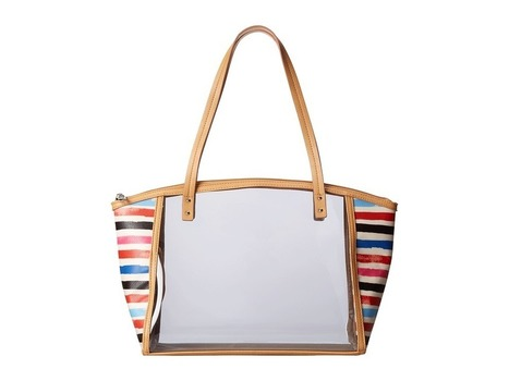 Relic - Caraway Clear Medium Tote (White Multi) Tote Handbags | Purses and Handbags | Scoop.it