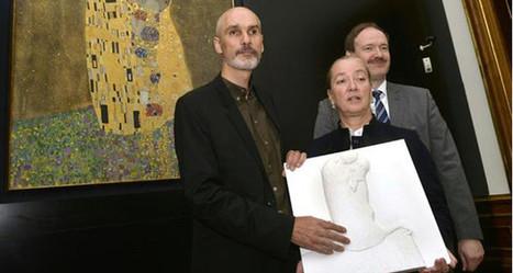 El Beso de Klimt accesible para los invidentes gracias a la impresión 3D - 3Dnatives | Impresión 3D | Scoop.it