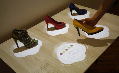 Perch's Augmented and Interactive Displays Could Change the Way You Shop for Shoes [VIDEO] | Augmented Reality Hub | Scoop.it