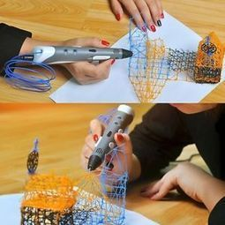 3D Printing Pen Printer Art Modeling Stereoscopic Free ABS Filament Cool Design | Additive Manufacturing | Scoop.it