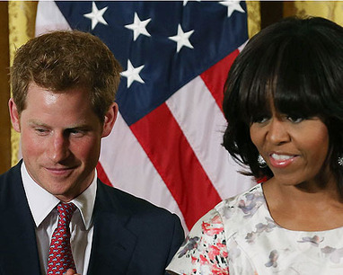 Extra Scoop: Prince Harry US Tour: First Stop, The White House - Extra (blog) | Respublika scoop | Scoop.it