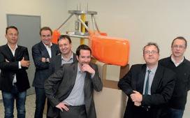 Les énergies de la mer: Electrimar : Une hydrolienne flottante de 130 tonnes fait surface en Basse Normandie | EMR sites web | Scoop.it