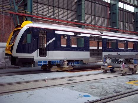 EMU production photos « Auckland Transport Blog | Made Different | Scoop.it