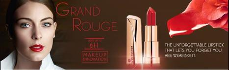 Collection Grand Rouge - Yves Rocher USA   Yves Rocher   Scoop.it