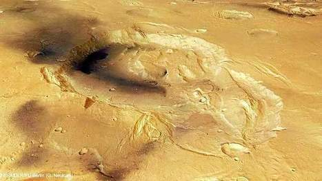 Explosive news about Mars super-volcanoes - Sydney Morning Herald | Geology | Scoop.it