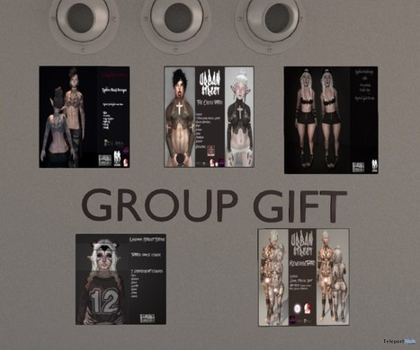 Tattoos For Men and Women Group Gifts by UrbanStreet | Teleport Hub - Second Life Freebies | Second Life Freebies | Scoop.it