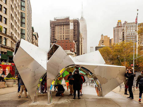 The best public art to see in NYC this winter | Sculpture Nature | Scoop.it