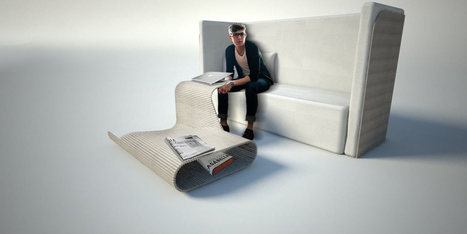 Furniture of the Future by Carlo Ratti and Cassina - Design Milk | FutureChronicles | Scoop.it