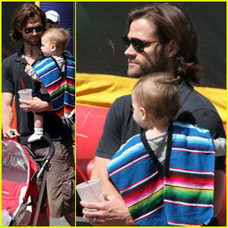 Jared Padalecki: Farmers Market Trip with Son Thomas | Celebrity ... | Jared Padalecki | Scoop.it