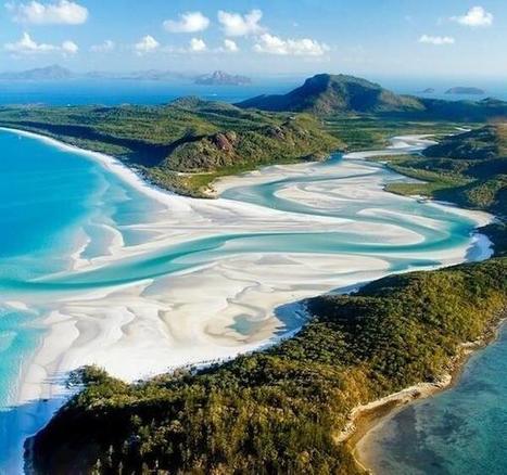 Twitter / GooglePics: Whitehaven Beach, Australia. ... | what's happen in Aussie | Scoop.it
