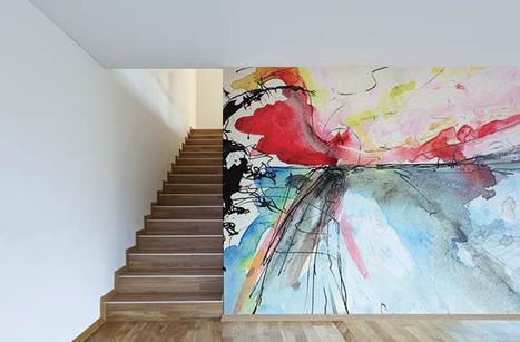 Qu'on soit adepte ou non de l'art abstrait, on ne reste jamais indifférent face à de tels visuels ! | Papiers Peints - Wallpaper | Scoop.it
