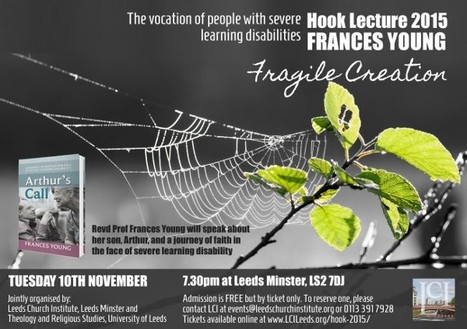 Hook Lecture 2015 which will be presented by Revd Prof Frances Young | Leeds Minster | Scoop.it