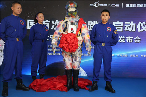 Space travel now in a parachute soon available - China.org.cn | Space Tourism | Scoop.it