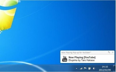 Les notifications de YouTube sur le Bureau, Now Playing Pop-up for YouTube | INFORMATIQUE 2013 | Scoop.it