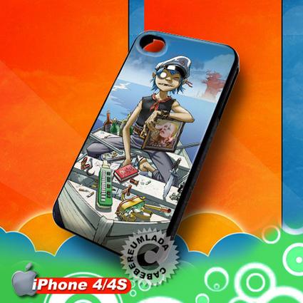 Gorillaz iPhone 4 4S Case for sale | Customizable Smart Phone Cases | Scoop.it