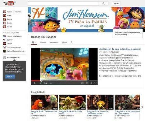 YouTube estrena canales de pago | El Content Curator Semanal | Scoop.it