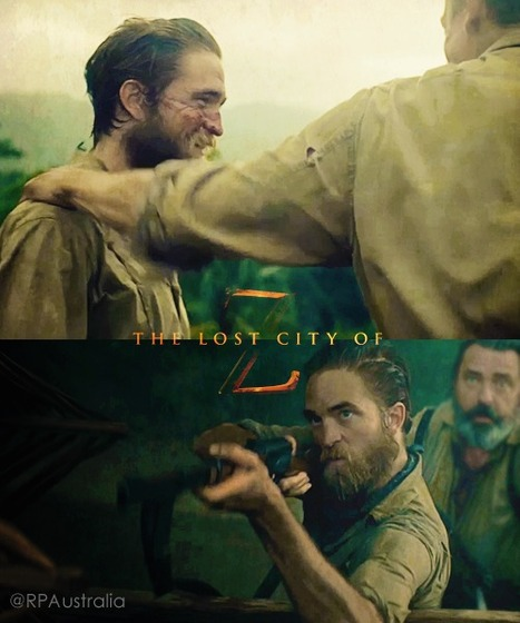 FIRST LOOK At 'The Lost City Of Z' With Robert Pattinson & Charlie Hunnam | Robert Pattinson Daily News, Photo, Video & Fan Art | Scoop.it