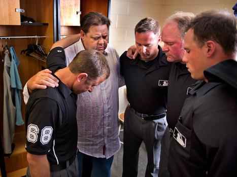 MLB: Umpires flock to Pastor Dean for baptisms | Excellent Long Form | Scoop.it