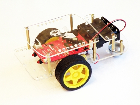 GoPiGo: Turn Your Raspberry Pi into a Fully Functioning Robot | Raspberry Pi | Scoop.it