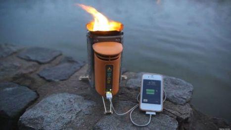 Charger son téléphone grâce à son feu de camp | Innovations - Energies vertes | Scoop.it