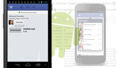 Facebook Android Flaws Enable Any App to Get User's Access Tokens | Digital & Internet Marketing News | Scoop.it