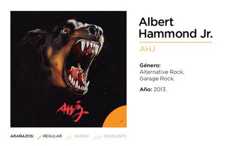 Albert Hammond Jr., AHJ (2013)   Music Reviews   Scoop.it