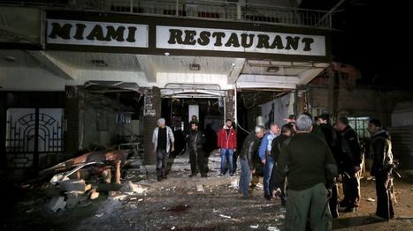 Syria conflict: 'At least 16 dead' in three restaurants blasts | The Pulp Ark Gazette | Scoop.it