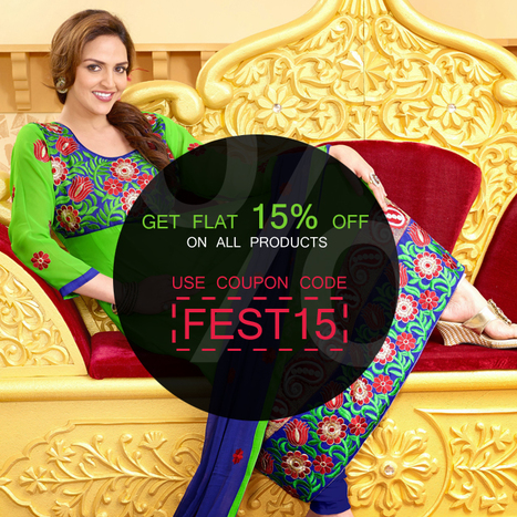 Don't miss it! Feast your eyes on a FLAT 15% OFF on Everything | Deals, Offers & Updates | Scoop.it