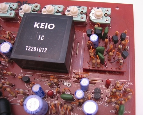 Mini Korg Filter IC   DIY Music & electronics   Scoop.it