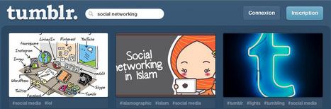 Tumblr : l'outil marketing | Social Media Curation par Mon Habitat Web | Scoop.it