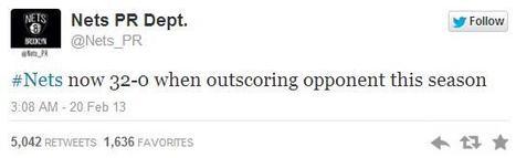 RIP to the Brooklyn Nets' Amazing PR Twitter Feed | PRNewser | Public Relations & Social Media Insight | Scoop.it