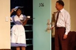 Walter Coppage and Chioma Anyanwu star in the Mountaintop at the Unicorn | examiner.com | OffStage | Scoop.it