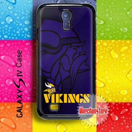 Minnesota Vikings NFL Logo Samsung Galaxy S4 Case | Merchanstore - Accessories on ArtFire | SAMSUNG GALAXY S4 CASE | Scoop.it