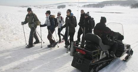Traces 2014 : raquettes, aligot et ski sur l'Aubrac | L'info tourisme en Aveyron | Scoop.it