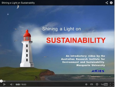 Shining a Light on Sustainability | Teaching Sustainability for Stage 3 | Scoop.it