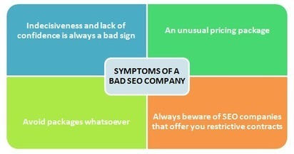 Symptoms of a bad SEO Company which you should protect your business from | Web Design & SEO Services | Scoop.it