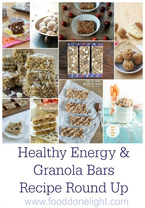 Healthy Energy and Granola Bars Recipe Round Up | Restaurant | Scoop.it