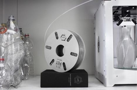 Refilament : IMPRIMER en 3D avec du PLASTIQUE RECYCLÉ | Machines Pensantes | Scoop.it