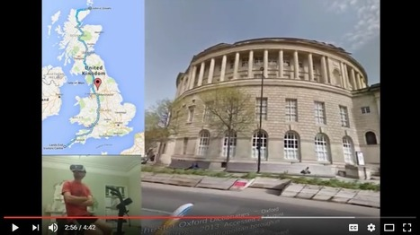 This man is cycling the length of Britain in virtual reality | Differentiated and ict Instruction | Scoop.it