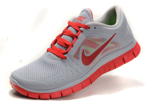 Buy your favorite Nike Free Run 3 Mens Wolf Grey Gym Red Pink Coral Red | nike free pink | Scoop.it
