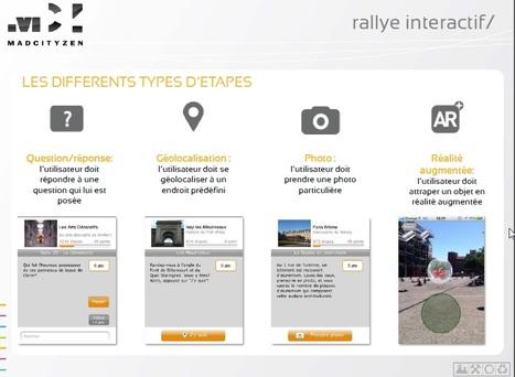 Teambuilding moderne avec votre smartphone comme seul compagnon : RALLYE INTERACTIF - Animation Numérique | Madcityzen - Createur d'évenements , Actualités et innovations | Scoop.it
