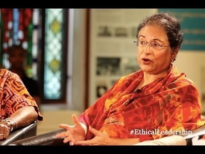 Hina Jilani: what makes an ethical leader? - YouTube