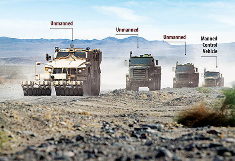 Tomorrow's driverless convoy on the road today | Location Is Everywhere | Scoop.it