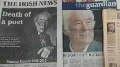 International media reaction to Heaney's death | The Irish Literary Times | Scoop.it