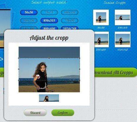Cropp.me rognage et ajustement de la tailles de vos photos en ligne | Time to Learn | Scoop.it