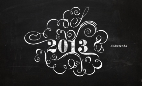 Create an Easy Chalk Ornament Typography in Photoshop | The Official Photoshop Roadmap Journal | Scoop.it